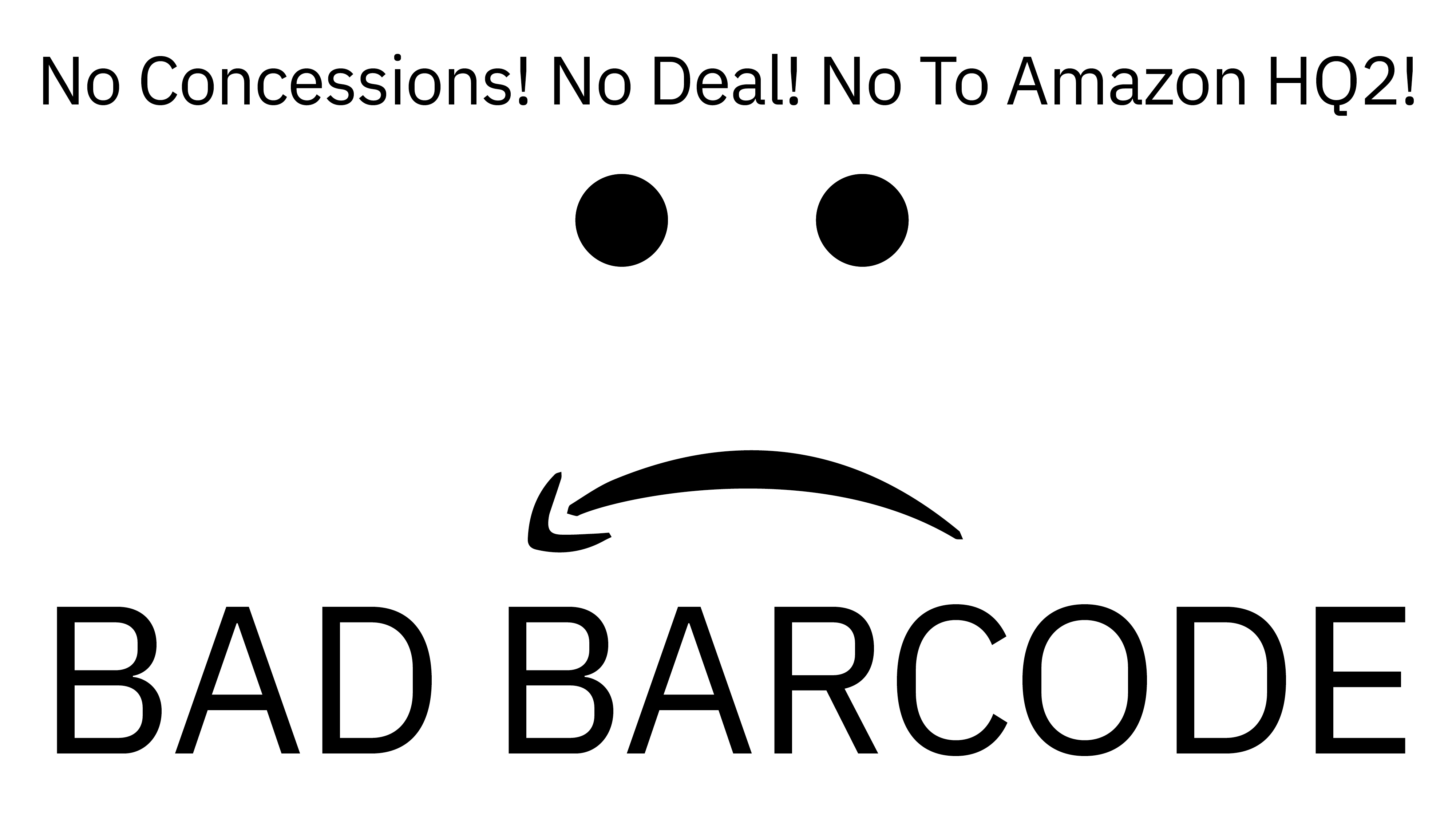 BAD BARCODE: NYC Cultural Workers Against Amazon - Frontpage - e